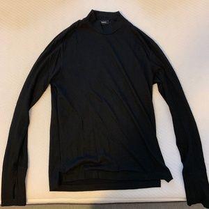Theory Men's Wool Mock Turtleneck Shirt